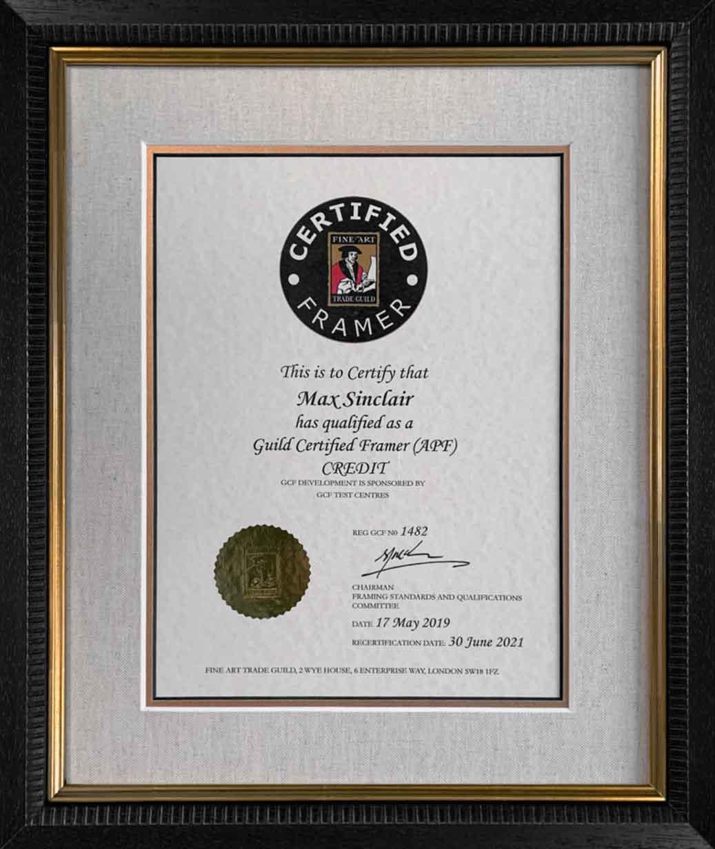 Certified Markham Framer