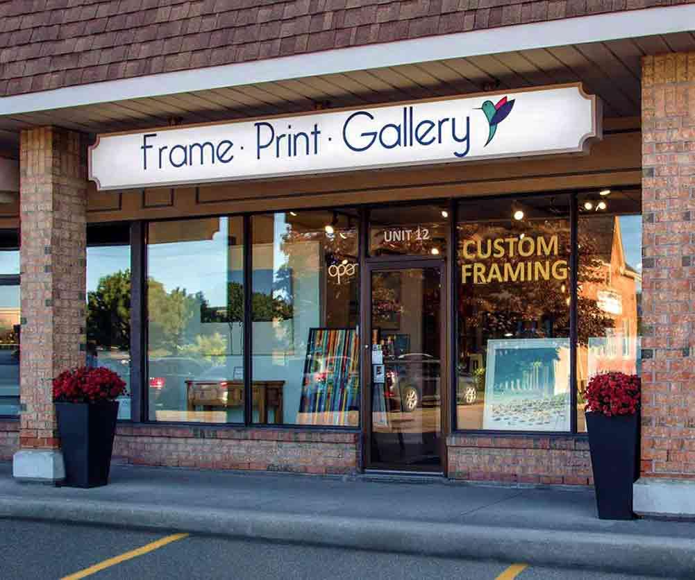 Frame Print Gallery Markham