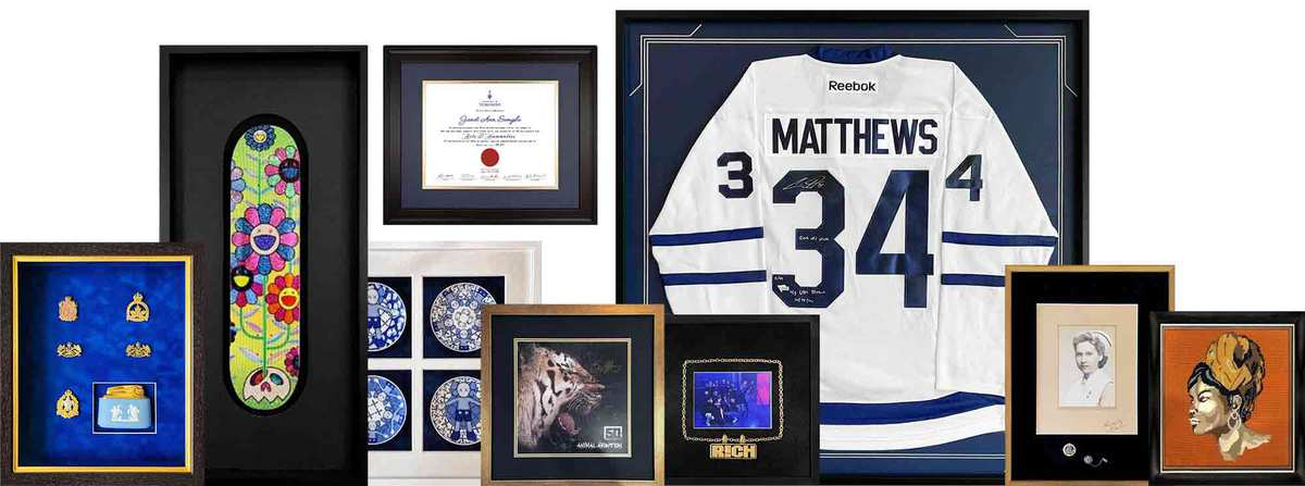 Custom Framing in Markham & Etobicoke, Toronto